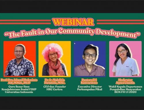 "Webinar ""The Fault in Our Community Development"""